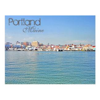 Cartão Postal Portland, Maine, EUA