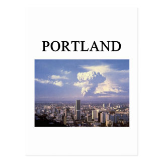 Cartão Postal PORTLAND oregon