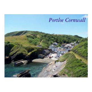 Cartão Postal Portloe Cornualha Inglaterra