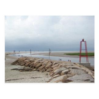 Cartão Postal Porto da rocha, Cape Cod