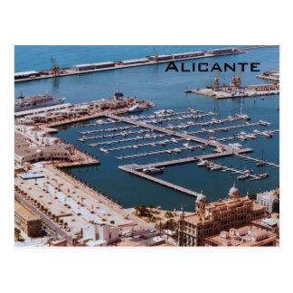 Cartão Postal Porto de Alicante