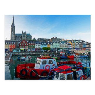 Cartão Postal Porto de Cobh