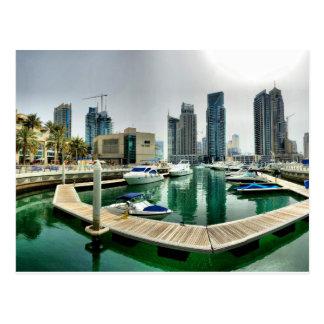 Cartão Postal Porto de Dubai