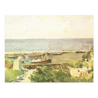 Cartão Postal Porto de Mikhail Vrubel- Odessa