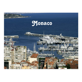 Cartão Postal Porto de Monaco