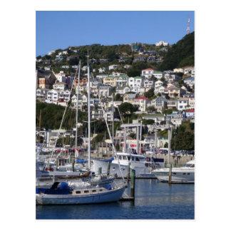 Cartão Postal Porto de Wellington