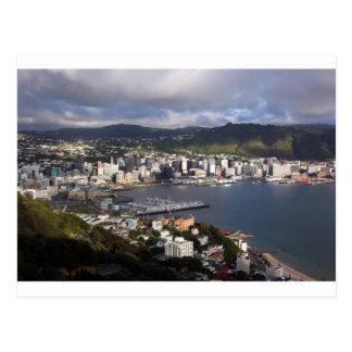 Cartão Postal Porto de Wellington, Nova Zelândia