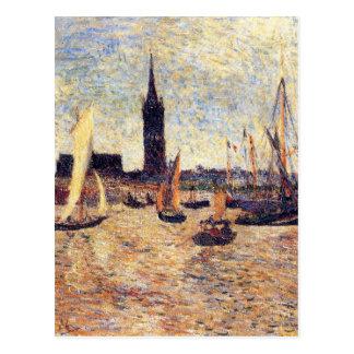 Cartão Postal Porto do Bordéus por Paul Gauguin