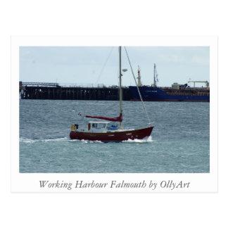 Cartão Postal Porto Falmouth pela fotografia de OllyArt
