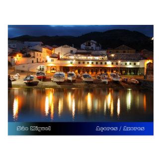 Cartão Postal Porto nos Açores