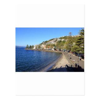 Cartão Postal Porto oriental de Wellington da baía