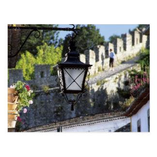 Cartão Postal Portugal, Obidos. Revérbero e 14o do ferro