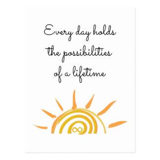 Cartão Postal Possibilidades de uma vida