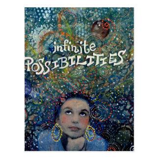 Cartão Postal Possibilidades infinitas