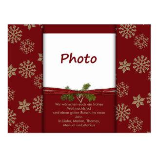 Cartão Postal Postal de natal