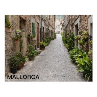 Cartão Postal postal del pueblo de Valldemossa, en Mallorca