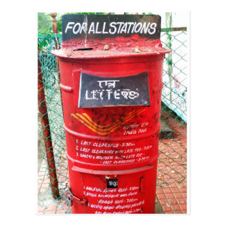 Cartão Postal PostBox