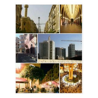 Cartão Postal Postcard Beirut Central District, Lebanon