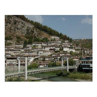 Cartão Postal Postcard Berat bridge, Albania