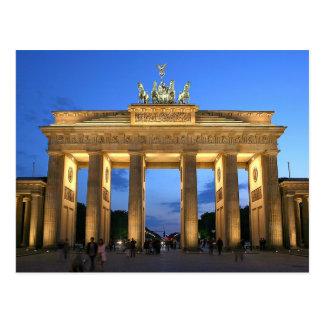 Cartão Postal Postcard Chá Brandeburgo estraga dentro Berlim,
