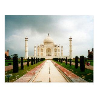Cartão Postal Postcard En Route to Taj Mahal, Agra, India