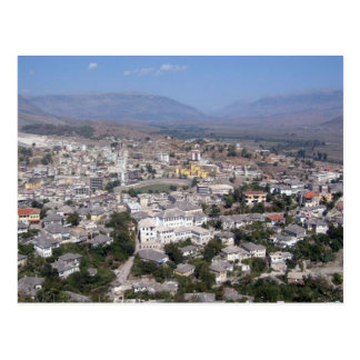 Cartão Postal Postcard Gjirokastra in Southern Albania