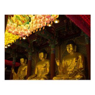 Cartão Postal Postcard Jogyesa Temple in Seoul, South Korea