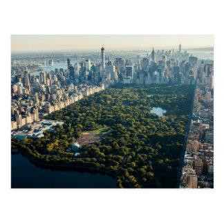 Cartão Postal Postcard/Mapa Postal Central Park NYC