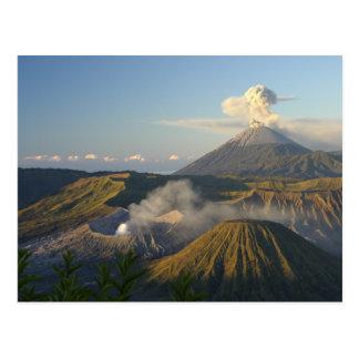 Cartão Postal Postcard Mount Bromo, Java, Indonesia