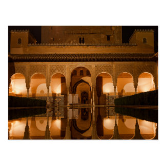 Cartão Postal Postcard Nasride Palace, Andalusia Spain