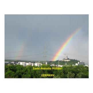 """Cartão Postal Postcard """"Nature em Augustin San aldeia de lixo """""""