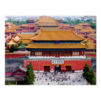 Cartão Postal Postcard Overview of the Forbidden City, Beijing