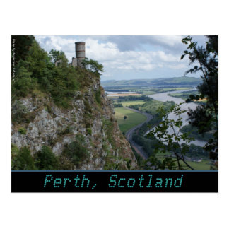 Cartão Postal Postcard_PERTH_BONNY SCOTLAND_Zaltar
