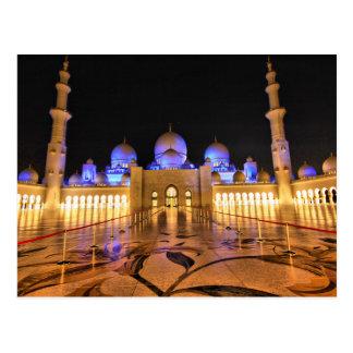 Cartão Postal Postcard Sheikh Zayed Grand Mosque, Abu Dhabi