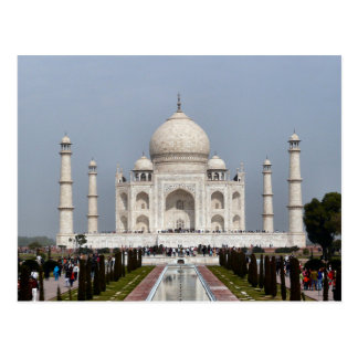 Cartão Postal Postcard Taj Mahal, Agra India