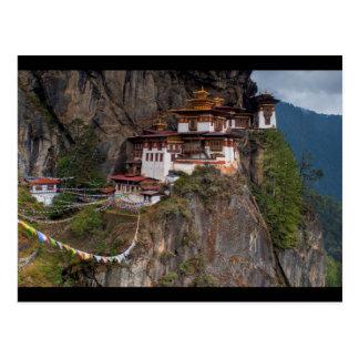 Cartão Postal Postcard Taktsang Monastery Tiger´s nest in Bhutan
