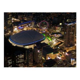 Cartão Postal Postcard Tokyo Dome by night, Tokyo, Japan