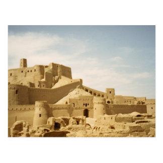 Cartão Postal Postcard Tower and fort of Bam, Iran