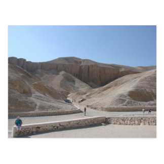 Cartão Postal Postcard Valley Of The Kings, Luxor Egypt