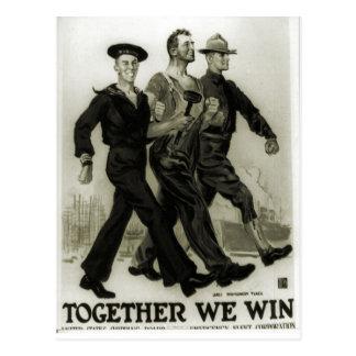 Cartão Postal Poster 1915 do recrutamento