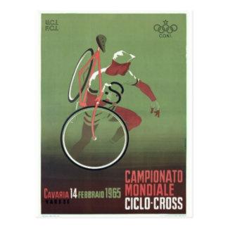 Cartão Postal poster 1965 da Ciclo-cruz