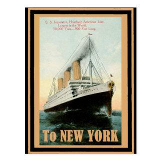Cartão Postal Poster 21 das viagens vintage