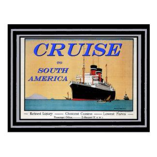 Cartão Postal Poster 26 das viagens vintage