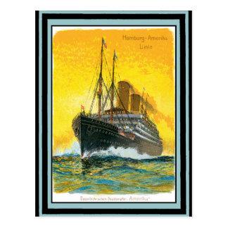 Cartão Postal Poster 48 das viagens vintage