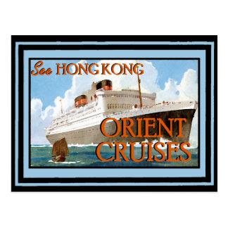 Cartão Postal Poster 66 das viagens vintage