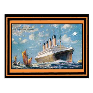Cartão Postal Poster 69 das viagens vintage