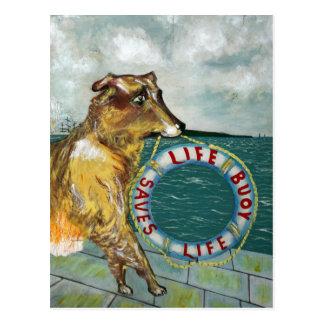 Cartão Postal Poster da propaganda do vintage do sabão da bóia