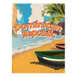 Cartão Postal Poster das férias do vintage da República