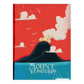 Cartão Postal Poster das viagens vintage de Versuvuis da