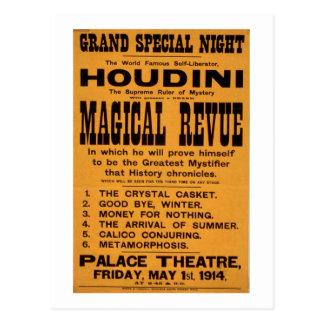 Cartão Postal Poster de Houdini